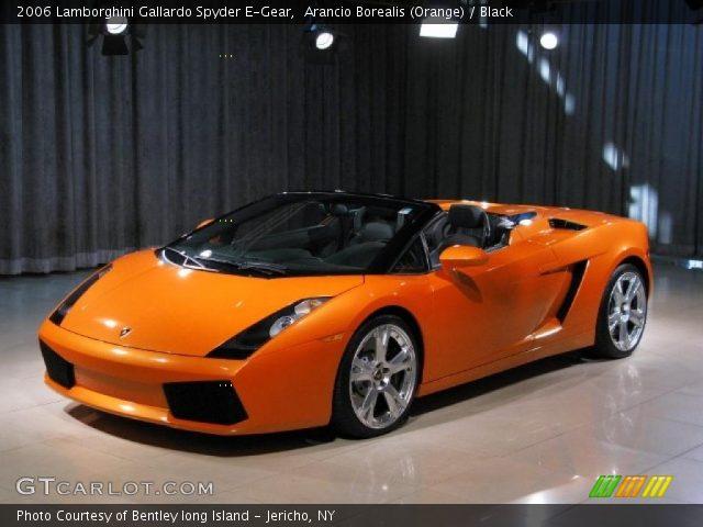 2006 Lamborghini Gallardo Spyder E-Gear in Arancio Borealis (Orange)