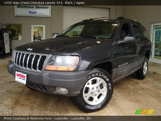 black 1999 jeep grand cherokee laredo 4x4 agate interior vehicle archive. Black Bedroom Furniture Sets. Home Design Ideas