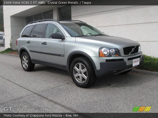 crystal green metallic 2004 volvo xc90 2 5t awd taupe interior vehicle. Black Bedroom Furniture Sets. Home Design Ideas