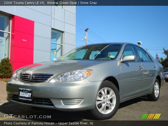 mineral green opal 2006 toyota camry le v6 stone gray. Black Bedroom Furniture Sets. Home Design Ideas