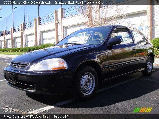 Granada black pearl metallic 1996 honda civic dx - 1996 honda civic hatchback interior ...