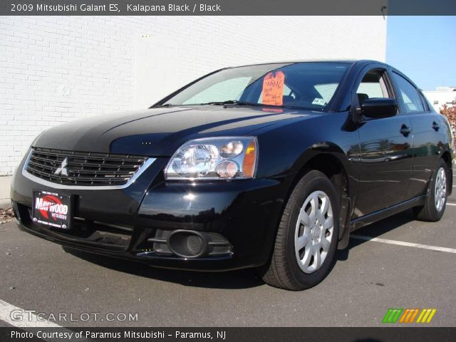 2009 Mitsubishi Galant ES in Kalapana Black