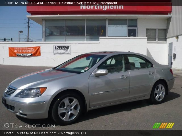 2006 Acura RL 3.5 AWD Sedan in Celestial Silver Metallic. Click to see ...