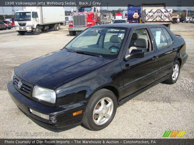 black 1998 volkswagen jetta wolfsburg sedan grey interior gtcarlot com vehicle archive 20125562 gtcarlot com