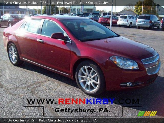 2010 Chevrolet Malibu LTZ Sedan in Red Jewel Tintcoat
