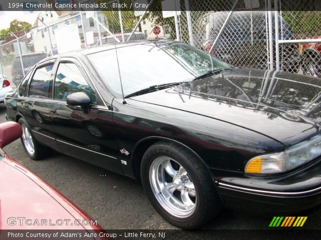 black 1994 chevrolet caprice impala ss gray interior vehicle archive 20139691. Black Bedroom Furniture Sets. Home Design Ideas