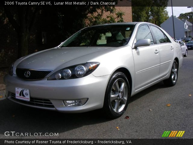 lunar mist metallic 2006 toyota camry se v6 dark. Black Bedroom Furniture Sets. Home Design Ideas