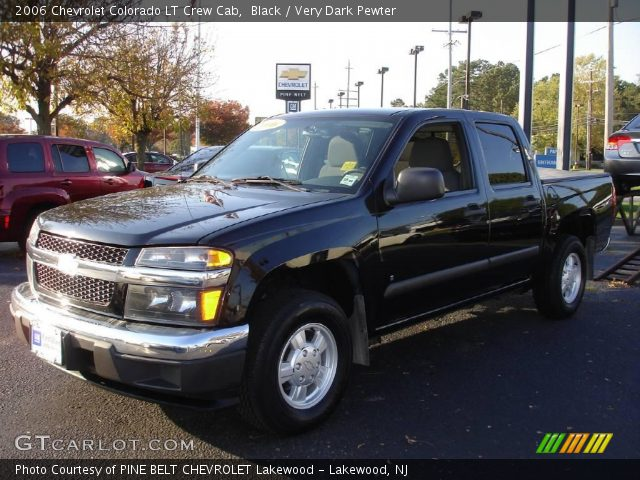 black 2006 chevrolet colorado lt crew cab very dark pewter interior vehicle. Black Bedroom Furniture Sets. Home Design Ideas