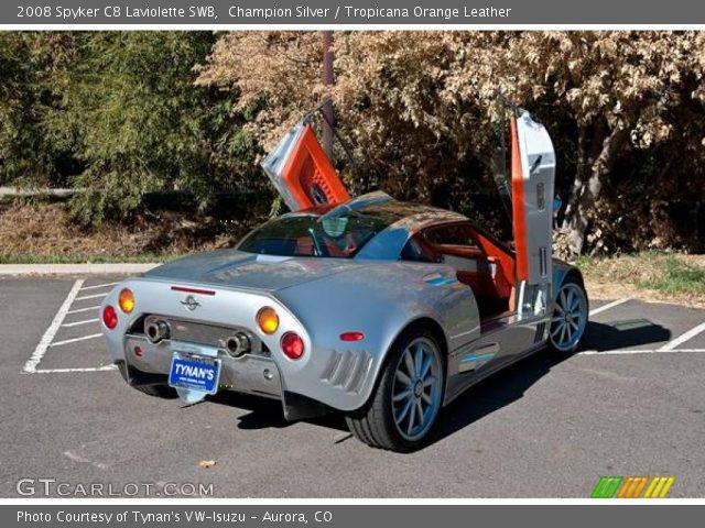 2008 Spyker C8 Laviolette SWB in Champion Silver