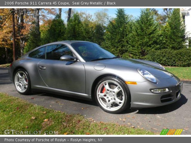 seal grey metallic 2006 porsche 911 carrera 4s coupe. Black Bedroom Furniture Sets. Home Design Ideas