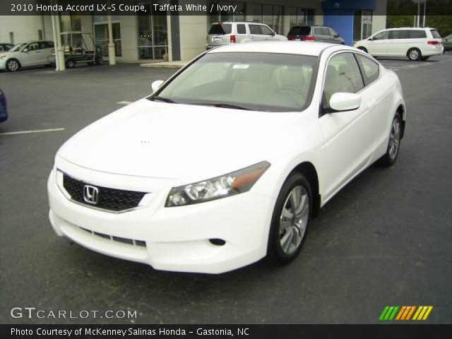 taffeta white 2010 honda accord lx s coupe ivory. Black Bedroom Furniture Sets. Home Design Ideas