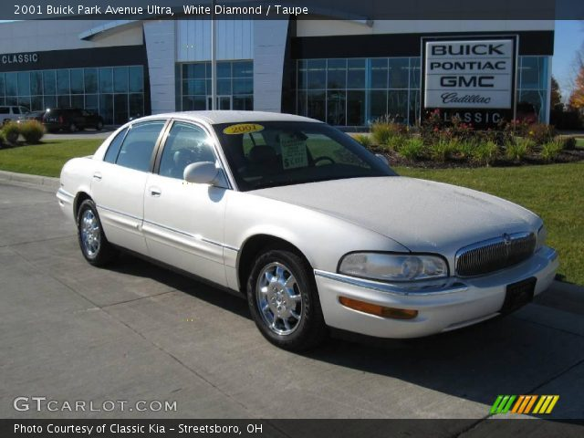 white diamond 2001 buick park avenue ultra taupe. Black Bedroom Furniture Sets. Home Design Ideas