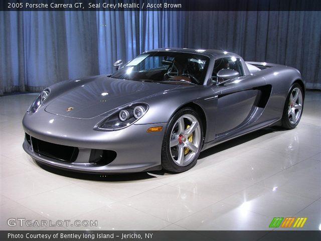 2005 Porsche Carrera GT  in Seal Grey Metallic