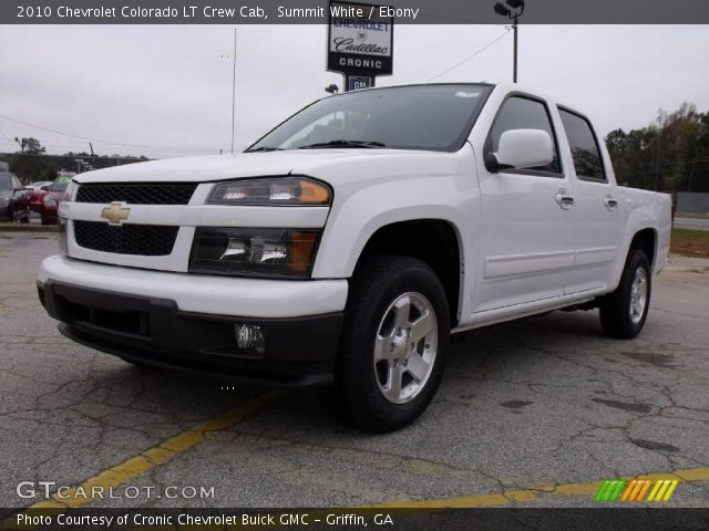 summit white 2010 chevrolet colorado lt crew cab ebony. Black Bedroom Furniture Sets. Home Design Ideas