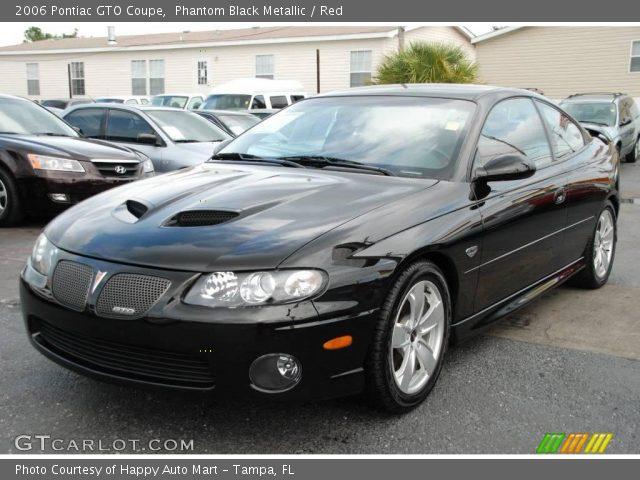 2006 Pontiac GTO Coupe in Phantom Black Metallic