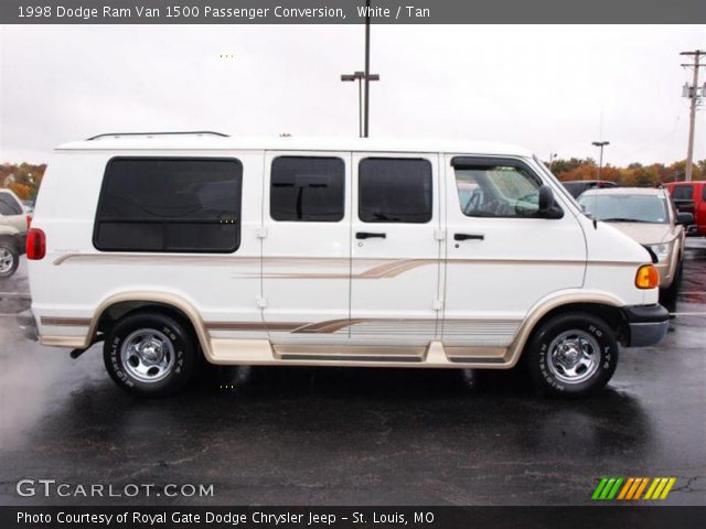 1998 Dodge Ram Van 1500 Penger Conversion In White