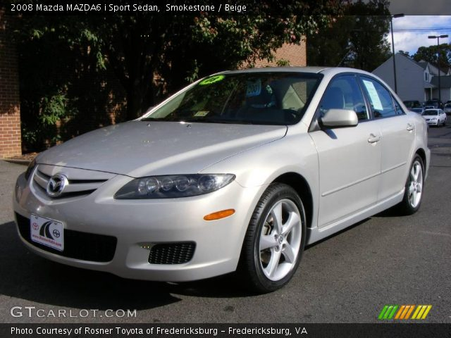 smokestone 2008 mazda mazda6 i sport sedan beige. Black Bedroom Furniture Sets. Home Design Ideas