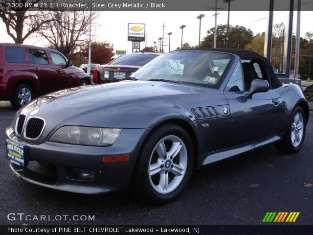 steel grey metallic 2000 bmw z3 2 3 roadster black. Black Bedroom Furniture Sets. Home Design Ideas