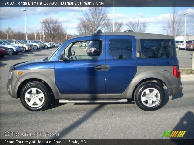 eternal blue pearl 2003 honda element ex awd gray. Black Bedroom Furniture Sets. Home Design Ideas