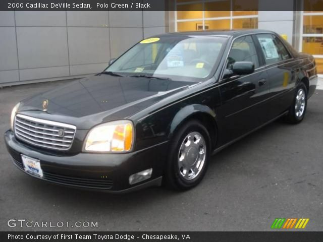 polo green 2000 cadillac deville sedan black interior. Cars Review. Best American Auto & Cars Review
