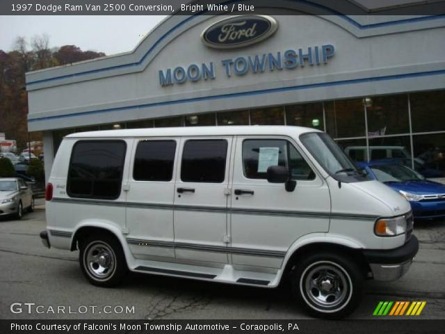 1997 Dodge Ram Van 2500 Conversion In Bright White