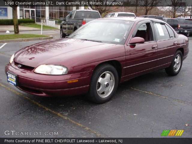 Dark Carmine Red Metallic 1998 Chevrolet Lumina Ltz Burgundy
