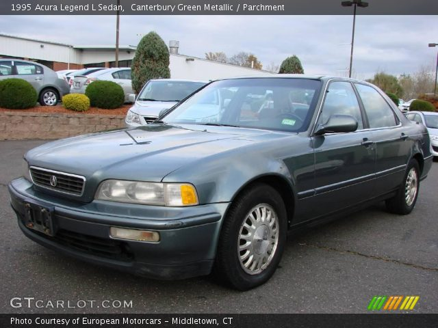 1995 Acura Legend L Sedan in Canterbury Green Metallic