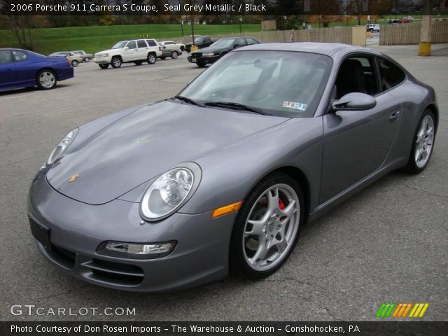 2006 Porsche 911 Carrera S Coupe in Seal Grey Metallic