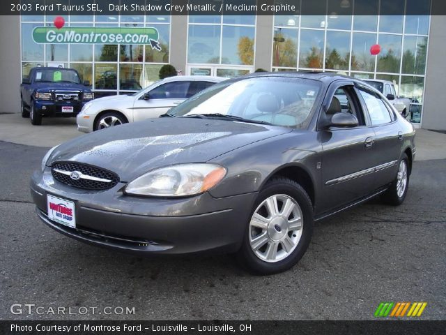 dark shadow grey metallic 2003 ford taurus sel medium. Black Bedroom Furniture Sets. Home Design Ideas