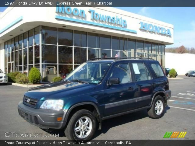 Cypress Green Pearl 1997 Honda Cr V Lx 4wd Charcoal Interior Vehicle