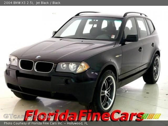 jet black 2004 bmw x3 black interior gtcarlot. Black Bedroom Furniture Sets. Home Design Ideas