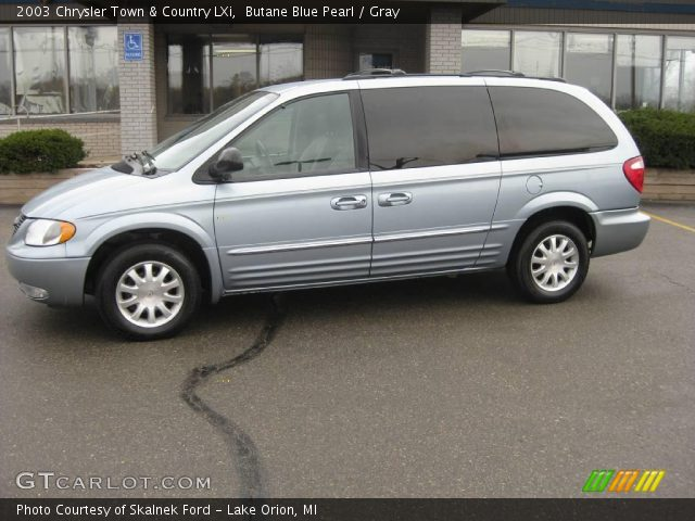 butane blue pearl 2003 chrysler town country lxi. Black Bedroom Furniture Sets. Home Design Ideas