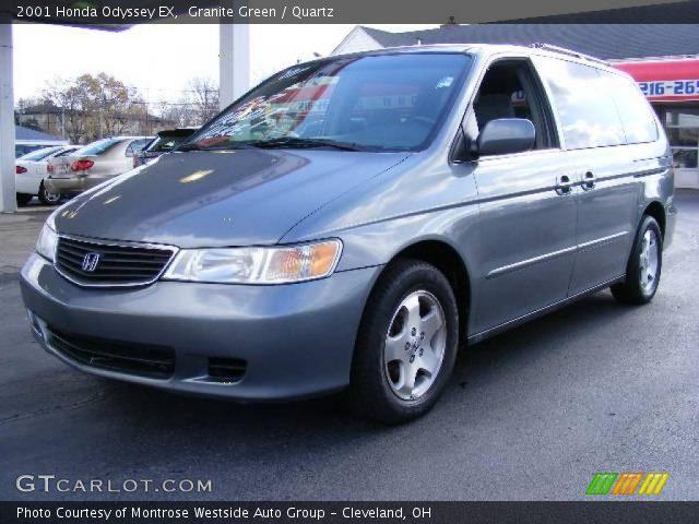 2001 Honda Odyssey Interior. Granite Green 2001 Honda Odyssey EX with Quartz interior 2001 Honda Odyssey