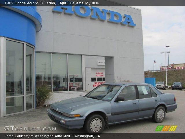1989 Honda Accord LX Sedan in Light Blue Metallic