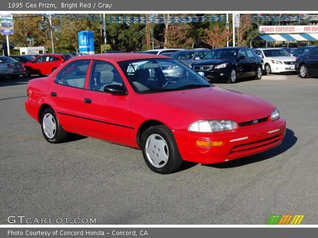 1995 Geo Prizm  in Bright Red