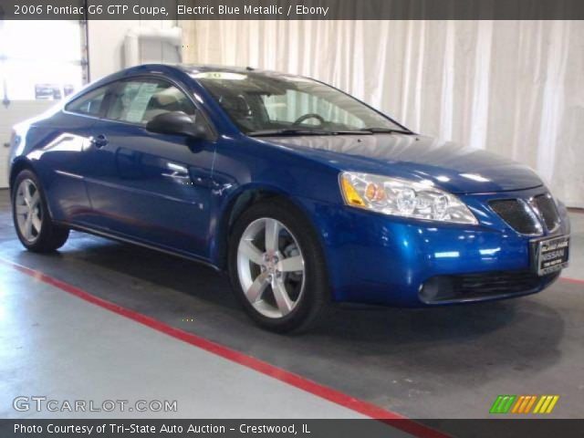 electric blue metallic 2006 pontiac g6 gtp coupe ebony interior vehicle. Black Bedroom Furniture Sets. Home Design Ideas