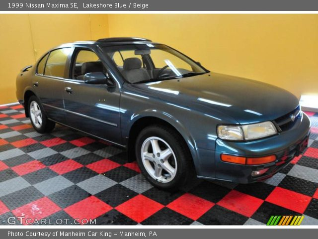 1999 Nissan Maxima SE in Lakeshore Blue