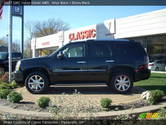 2007 Gmc Yukon Denali Interior. Onyx Black 2007 GMC Yukon Denali AWD with Ebony Black interior 2007 GMC