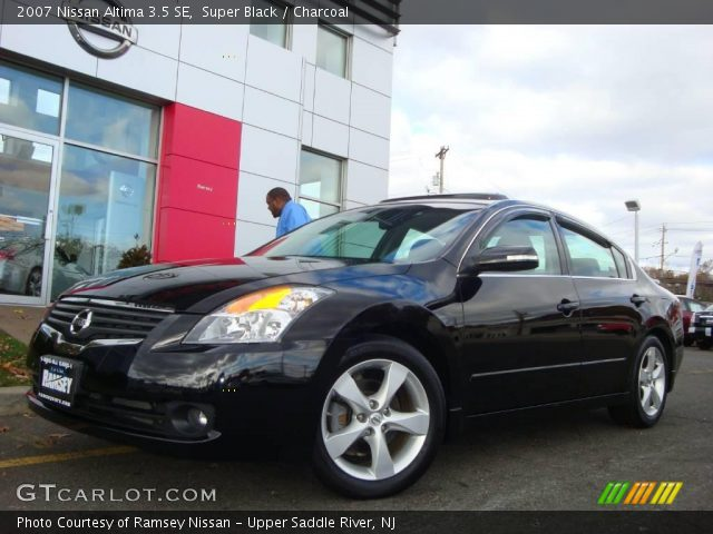 Super Black - 2007 Nissan Altima 3.5 SE - Charcoal Interior | GTCarLot ...