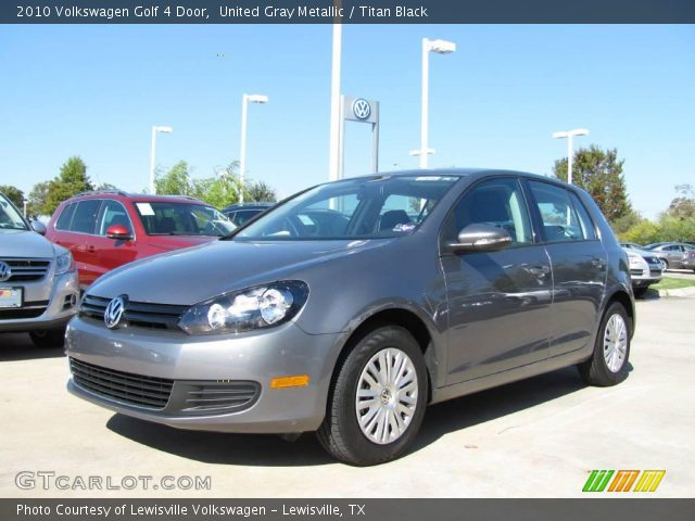 2010 Volkswagen Golf 4 Door in United Gray Metallic
