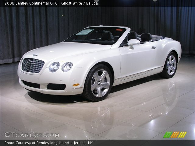 2008 Bentley Continental GTC  in Ghost White
