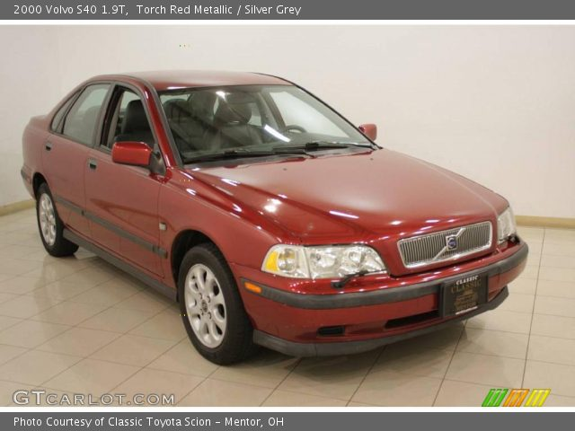 torch red metallic 2000 volvo s40 1 9t silver grey. Black Bedroom Furniture Sets. Home Design Ideas