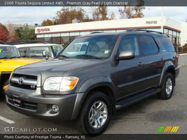 phantom gray pearl 2006 toyota sequoia limited 4wd light charcoal interior. Black Bedroom Furniture Sets. Home Design Ideas