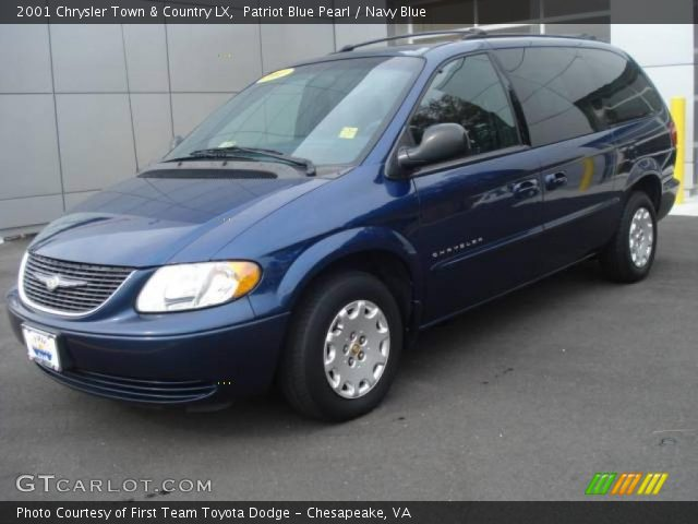Patriot blue pearl 2001 chrysler town country lx - 2001 chrysler town and country interior ...
