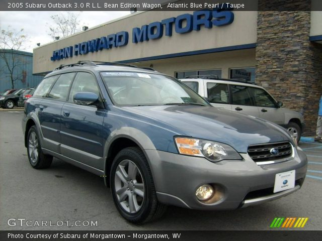 atlantic blue pearl 2005 subaru outback 3 0 r l l bean. Black Bedroom Furniture Sets. Home Design Ideas