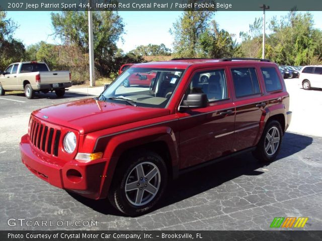 inferno red crystal pearl 2007 jeep patriot sport 4x4. Black Bedroom Furniture Sets. Home Design Ideas