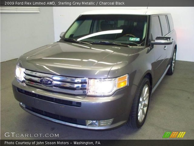 sterling grey metallic 2009 ford flex limited awd. Black Bedroom Furniture Sets. Home Design Ideas