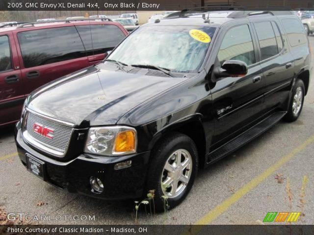 Onyx Black 2005 GMC Envoy XL Denali 4x4 with Ebony interior 2005 GMC Envoy