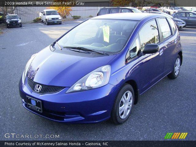 Blue Sensation Pearl - 2009 Honda Fit