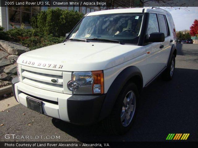 chawton white 2005 land rover lr3 se alpaca beige interior vehicle archive. Black Bedroom Furniture Sets. Home Design Ideas
